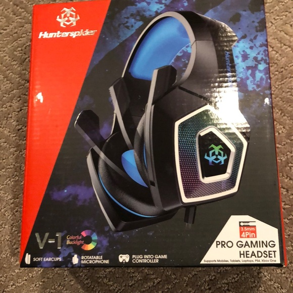 Pro gaming headset- Hunterspider
